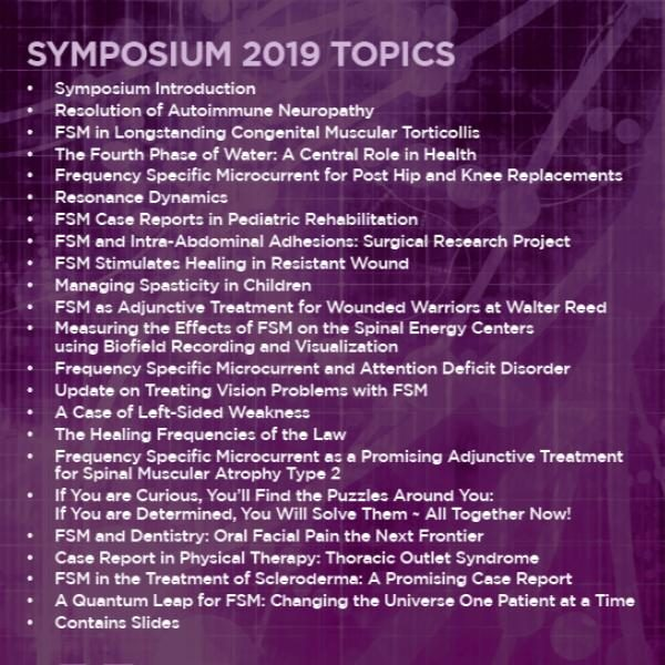 2019 FSM Symposium Audio Back