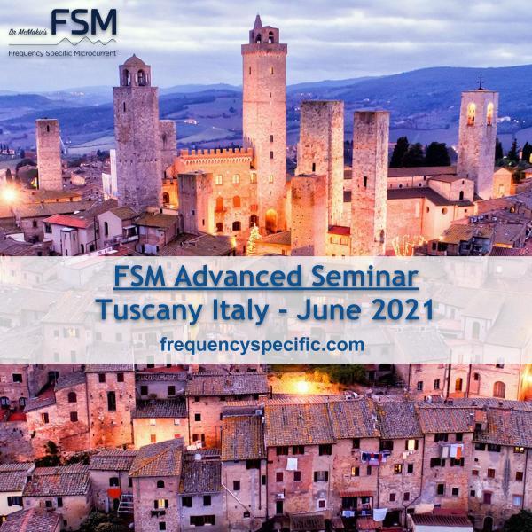 Tuscany 2021 FSM Advanced