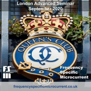 Frequency Specific Microcurrent Advanced Master Course London UK