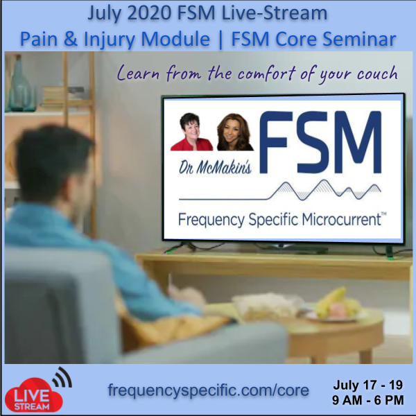 2020 July FSM Core Pain and Injury Live-Stream