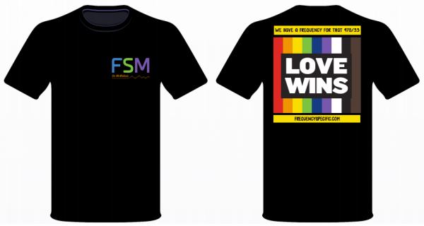 Love Wins Shirt Both Sides
