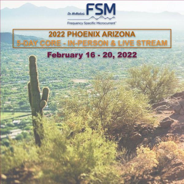 2022 Phoenix 5-Day FSM Core Seminar